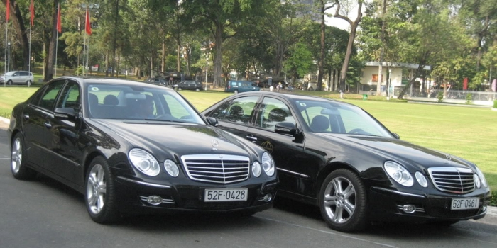 Chauffeur Car Rental in Vietnam with driver