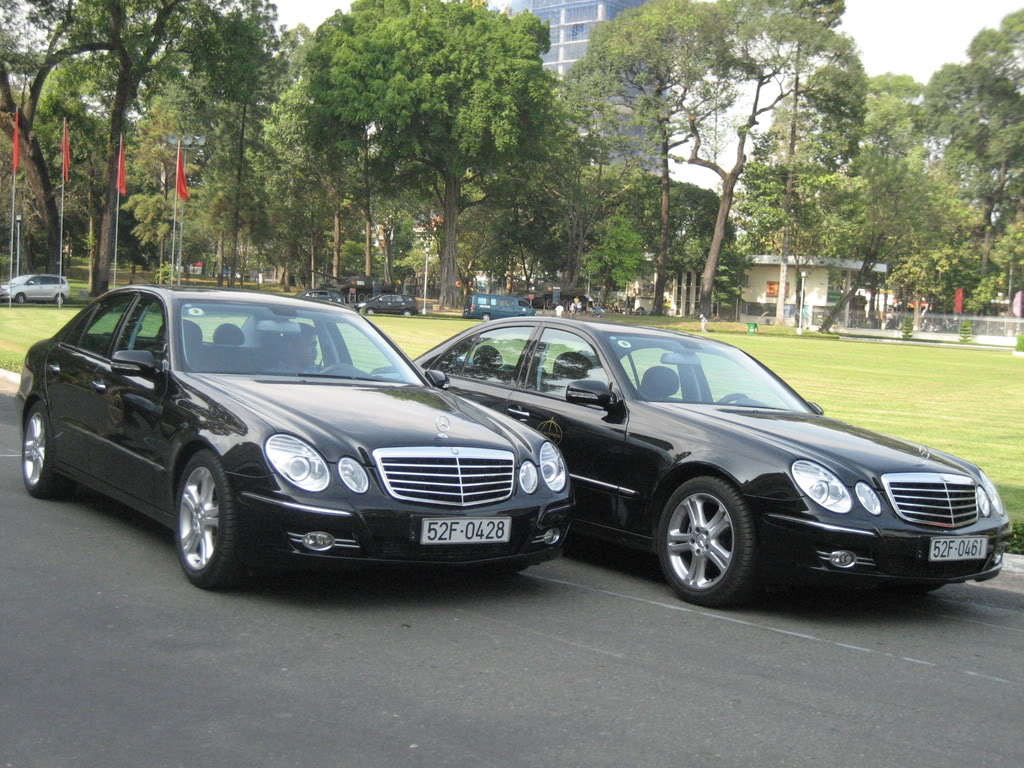 mercedes e200 for rent with english speaking driver in vietnam. Black Bedroom Furniture Sets. Home Design Ideas
