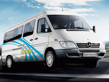 Mercedes Sprinter Van for rent Ho Chi Minh City