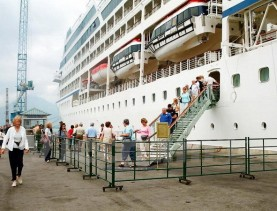 Transport from Chan May Port to Hue City