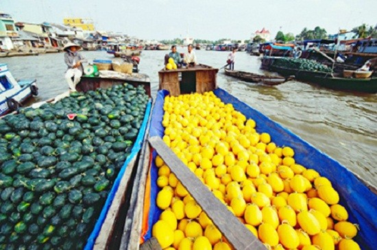 Cai Be floating market one day tour