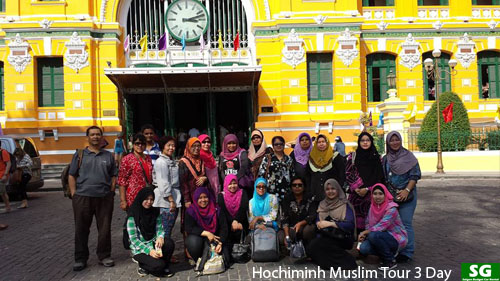 Ho Chi Minh MuslimTours 3 Days/2 Nights
