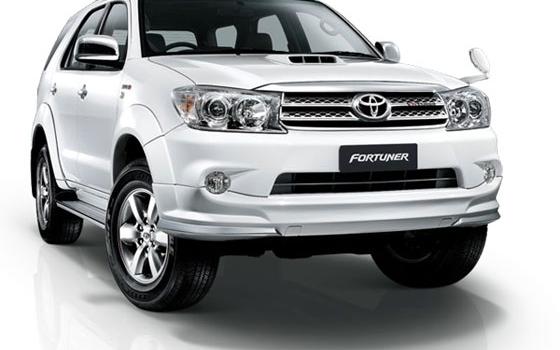 Toyota Fortuner Car rental Ho Chi Minh Vietnam