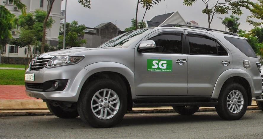 Toyota Fortuner car rental Ho Chi Minh