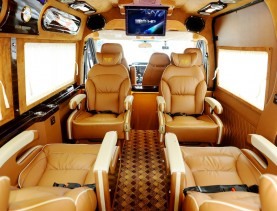 D'car Luxury Limousine Van Rental Services Saigon
