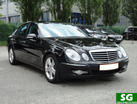 Mercedes E 200 Luxury Car rental for Business