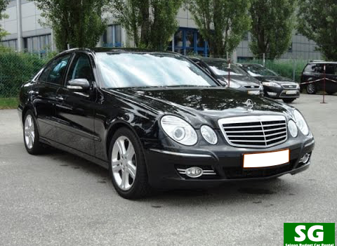 Mercedes E 200 Luxury Car rental Ho Chi Minh City