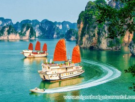 Car rental transfer Hanoi to Ha Long bay