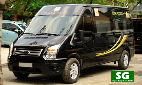 D'car Limousine van rental Da Nang City
