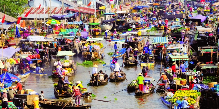 Mekong Delta Tour 2 days – Cai Rang floating market