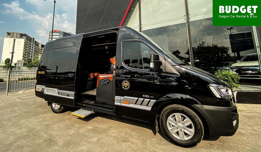Hyundai Solati - limousine rental car Ho Chi Minh City