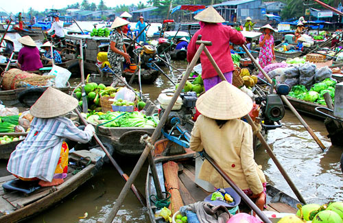 Mekong delta half day tour cai rang floating market